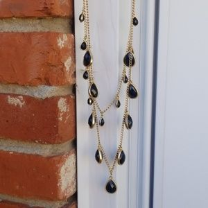 Faceted Layered Necklace